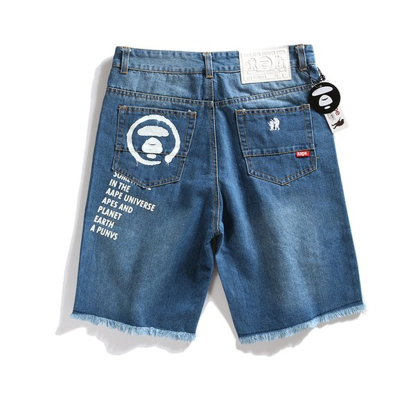 Ape Short Pants Designer Shorts Summer Mens Shorts Hip Hop Shorts Skateboard Short Fear Of God streetwear Clothes Mens Jeans suprême
