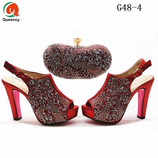 Dgrain High Quality Fashion Wholesale African Shoes And Bags To Match Women Dress Shoes Clutch Bags