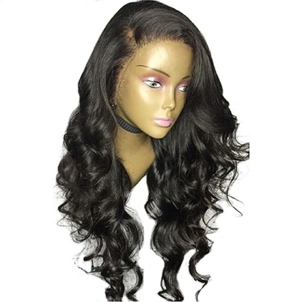 Lace Front Human Hair Wigs Malaysian Body Wave Remy Human Hair Wigs Pre Plucked With Baby Hair Full Ends Lace Wig