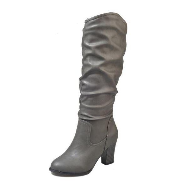 Large size 34-41 yards explosion models women's boots high-heeled Martin boots women's high boots4