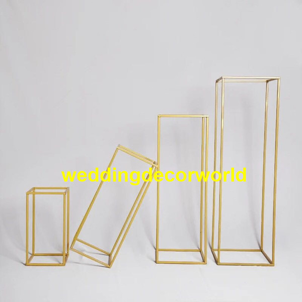 New style Gold metal candle holders wedding centerpieces candle stands event decor decor0600