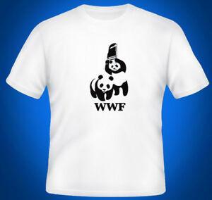 WWF Çelik Sandalye Güreş O-NeO-Boyun Ilham Erkek Parodi T Gömlek Üst