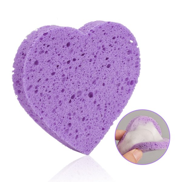 Cellulose Pad Cosmetic Supply Cellulose Pad Exfoliator Scrub Makeup Remover Sponge Makeup Tool Beauty Facial Clean