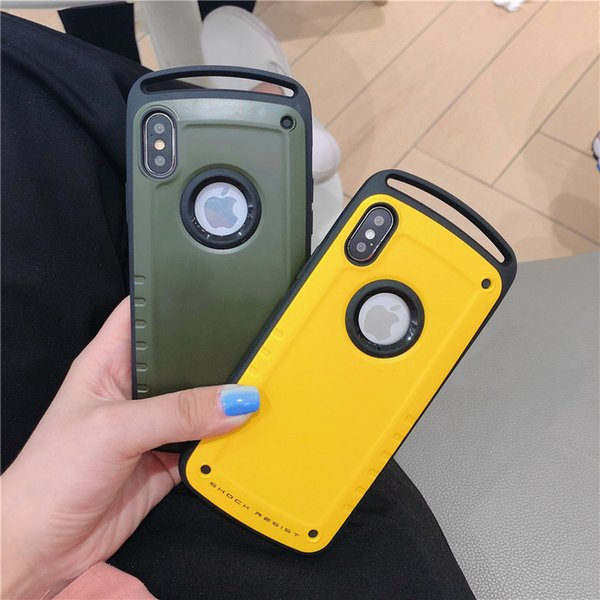 For Iphone Xr Armor Case Tough Heavy Duty Drop Protection Back Cover For  IPhone 8 8Plus 7 Plus X XS MAX Buy Cell Phones Cell Phone Case From