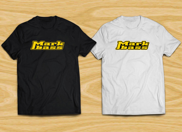 50d7467d8b3a Markbass Logo Men's Black White T-Shirt XS to 3XL Funny free shipping  Unisex Casual top