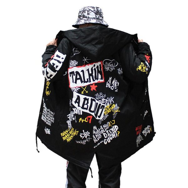 TANG 2019 Autumn Jacket Ma1 Bomber Coat China Have Hip Hop Star Swag Tyga Outerwear Coats