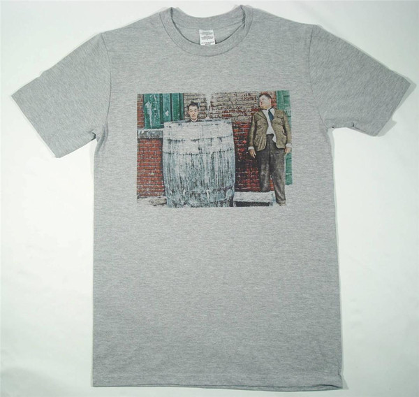 Laurel and Hardy Grey T-Shirt Size S-XXXL Retro Vintage slapstick comedy chaplin Funny free shipping Unisex Casual top