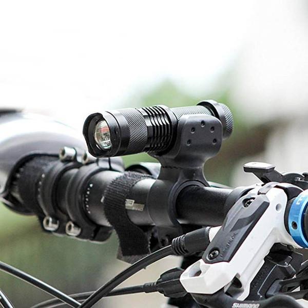22-35mm Bike Bicycle Flashlight Holders Front light Mounts Clip Torch Brackets