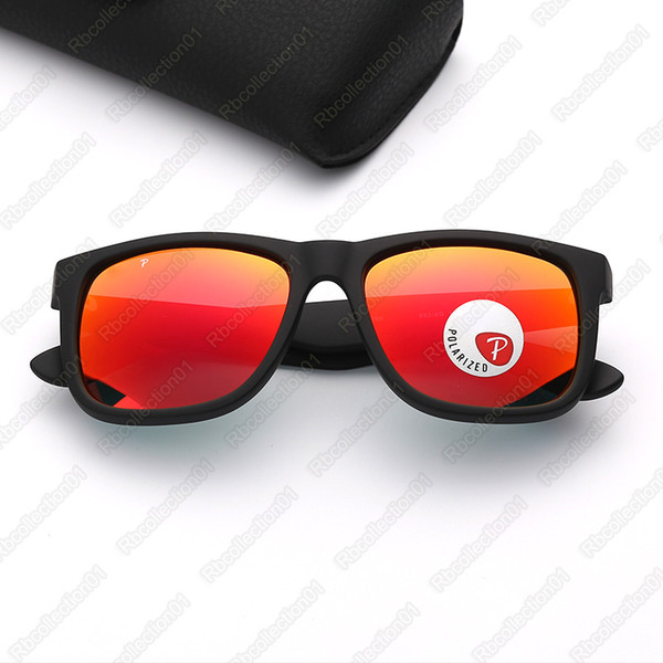 matte black-red mirror polarized