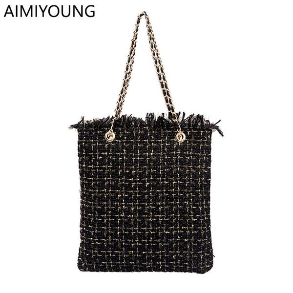 2019 Fashion AIMIYOUNG Women Handbags Large Shoulder Bags Ladies Designer Tote Bag Crossbody Bags Messenger Bags Bolsa Feminina Bolsos Mujer