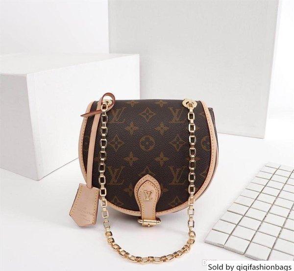 Men 's reali borse in pelle Keepall 45 borse a spalla borsa donne di viaggio totes 51180 size18cmx19cmx8cm