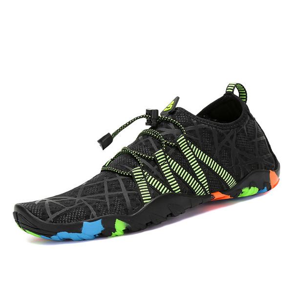 online hier gut aus x anders Großhandel Aqua Shoes Sommerschuhe Herren Atmungsaktive Damen Turnschuhe  Erwachsene Strandschuhe Upstream Schwimmen Tauchen Socken Tenis Masculino  Von ...