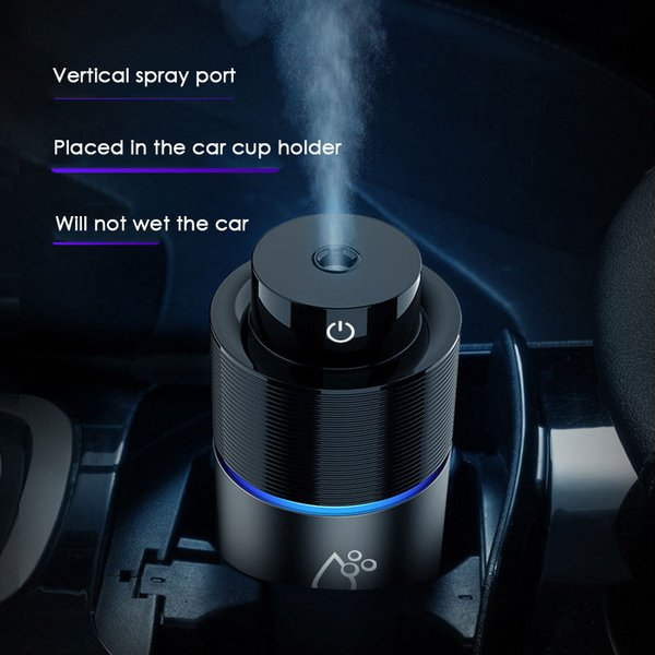 Auto portátil Mini USB ultrasónico purificador de aire del coche humidificador difusor de aceite esencial ambientador luces LED aromaterapia difusores de aroma de coche