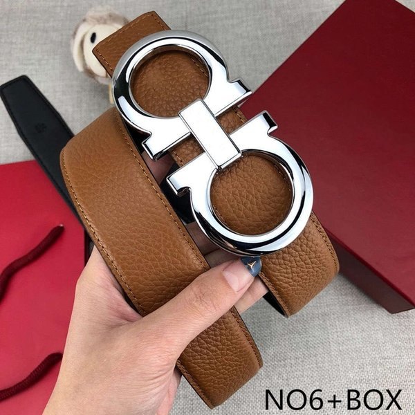 fashionable designer belts luxury belts mens woman stylish belt brand casual f letters smooth buckle width 38mm with gift box, Black;brown