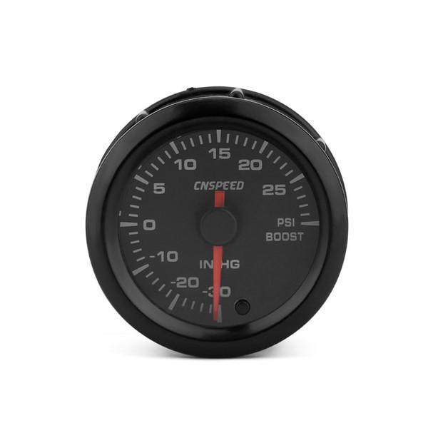 Auto Universal Modifikation 12V Kompressor Meter 2 Zoll (52mm) Bunte Hintergrundbeleuchtung Kompressor PSI Black Shell