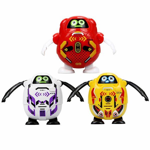 Silverlit Mini Recording Robot 6 Styles TALKIBOT Electric Remote Control Speaking Interactive Toys For Kids LJJO7176
