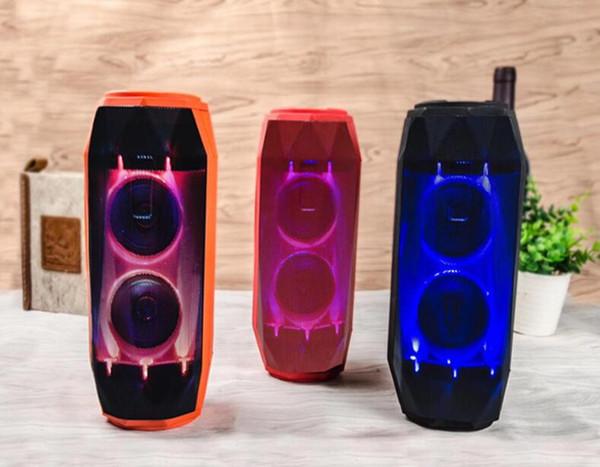 B28 sem fio bluetooth speaker iluminação portátil ao ar livre música à prova d 'água subwoofer de áudio pulsante colorido