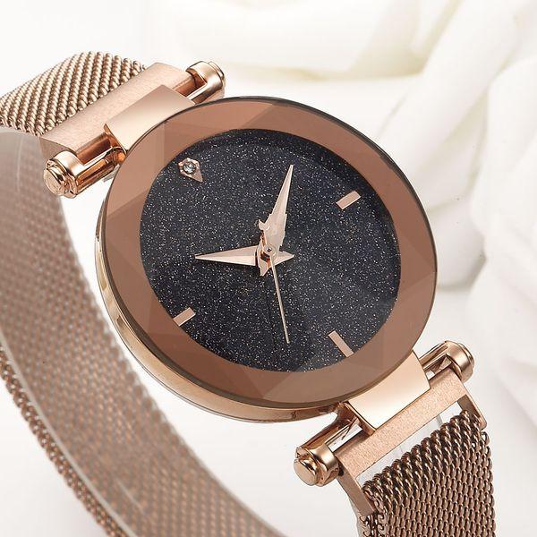 vente en gros montres femmes ciel étoilé mode strass montres pour femmes montres de luxe femmes horloge femmes relogio feminino reloj mujer saat