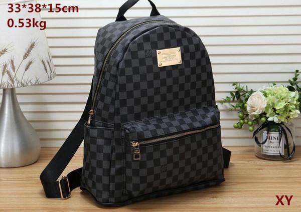 Hot vente classique sacs de mode femmes noires hommes sac à dos style sacs sacs polochons unisexe épaule