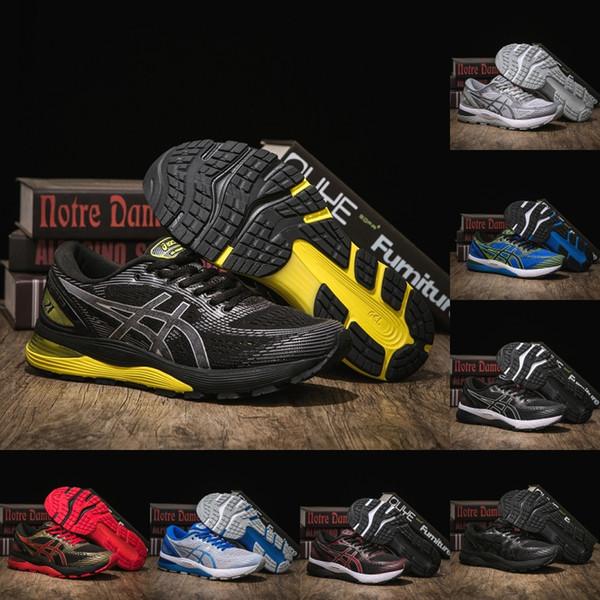 Asics Gel-NIMBUS 21 Designer Mens Shoes Best Quality Dary Grey Black White Fashion Original Athletic Sport Running Sneaker