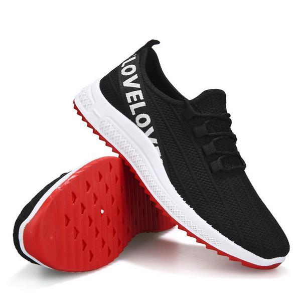 Gym Homme Printemps Mode Populaire Chaussures simples Non-slip en plein air Ventilation Confortable chaussures de sport Chaussures de sport