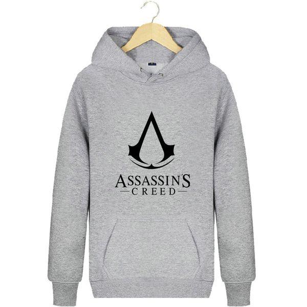 Assassins Creed hoodies Assassin design sweat shirts Popular fleece clothing Pullover sweatshirts Sport coat Outdoor jackets
