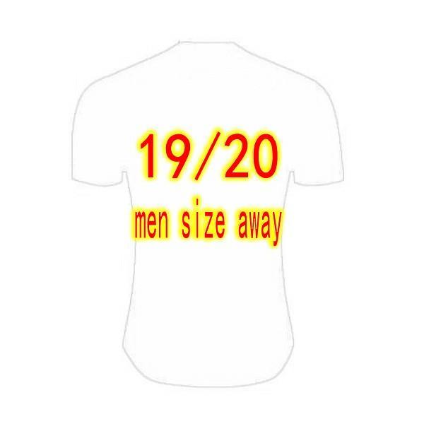 19/20 men away