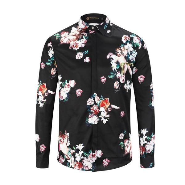 2019 Summer New Arrival Top Quality Designer Clothing Men's Fashion T-Shirts Medusa Print Tees Size M-3XL