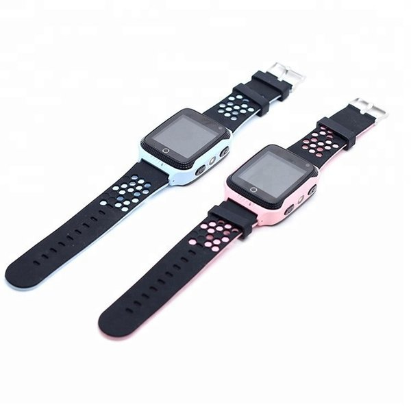 Y21 Kids GPS Tracker Watch Kids Smart Watch children smartwatch with Camera Flash Light Touch Screen SOS Call Location Finder for Child