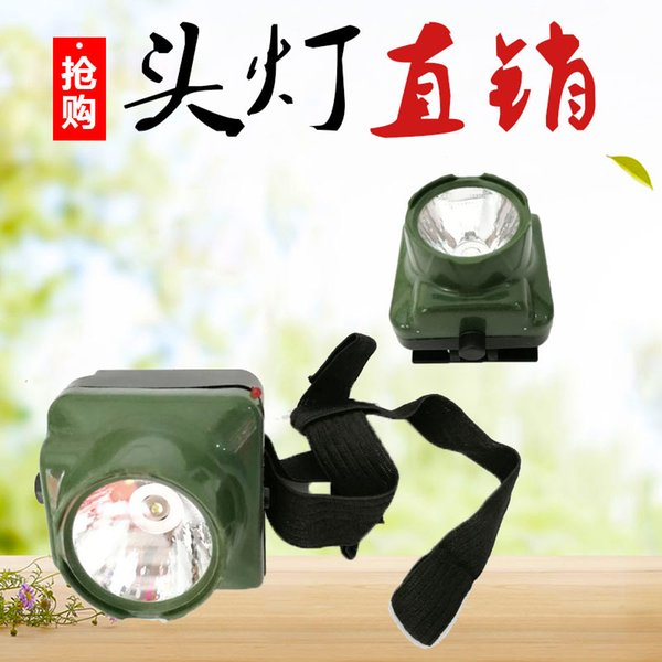 New Portable Headlamps Plastic Miners Lamp Charging Type Headlight Outdoors Night Fishing Riding Camping Long Range Shooting 3 6ybG1