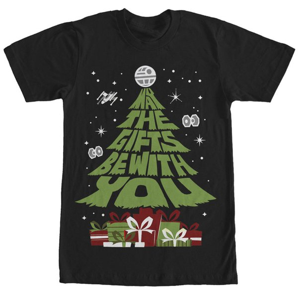 Wholesale Discount Gift Tree Christmas Holiday Mens T Shirt S To 3xl Shirts Homme Novelty T-shirt Men Breathable