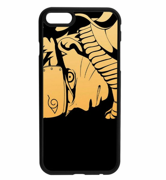 Naruto Character Rubber Bumper Phone Case For Iphone 5s 6s 6plus 6splus 7 7plus 8 X Samsung Galaxy S6 S6ep S7 S7ep S8 S9