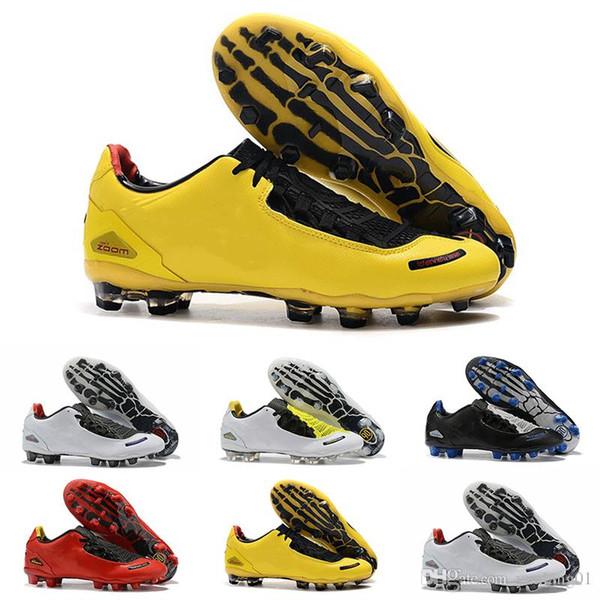 Grosshandel 2019 Nike Football Boots Neue Ankunft Herren Insgesamt 90 Laser Fussballschuhe Top Qualitat Begrenzte 2000 Schwarz Gelb Sportlich Mode