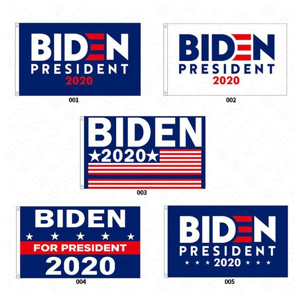 best selling 90*150CM Biden 2020 Presidential Campaign Flags The US Election Biden Letters Printed Garden Flag Polyester Garden Flags Decoration D62901