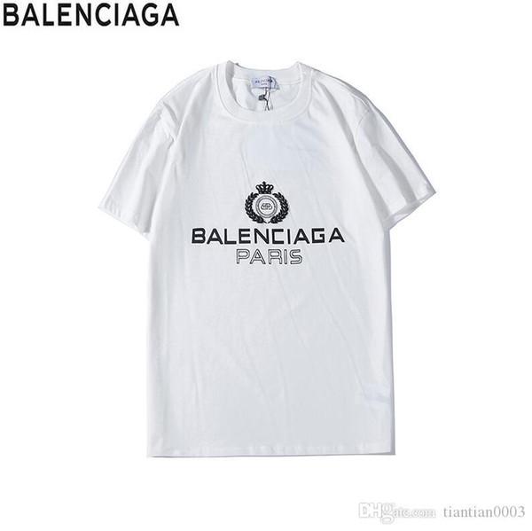 Hot 20SS Designer hot sale fashion brand T-shirt men's women casual print icon hip hop cotton short-sleeved T-shirt4