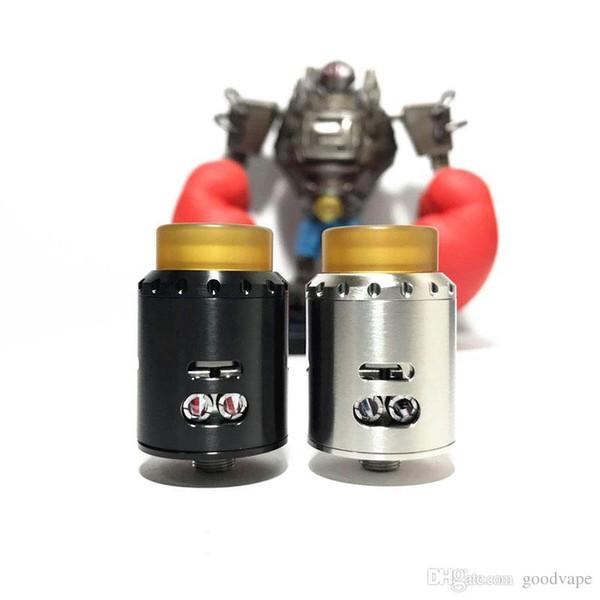 Est Blitz Mosqueteiro RDA Atomizador clone 24mm de Diâmetro Com 3 Diferentes Tipos de Fluxo De Ar Simgle ou Dupla Bobina de Alta qualidade venda Quente livre
