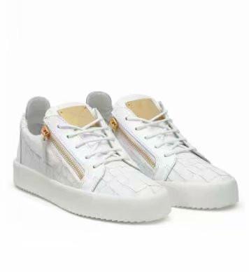Alta calidad envío gratis cuero de grano de cocodrilo negro para hombres y zapatos de mujer, zapatillas de deporte de alto nivel chaoliu 1896013