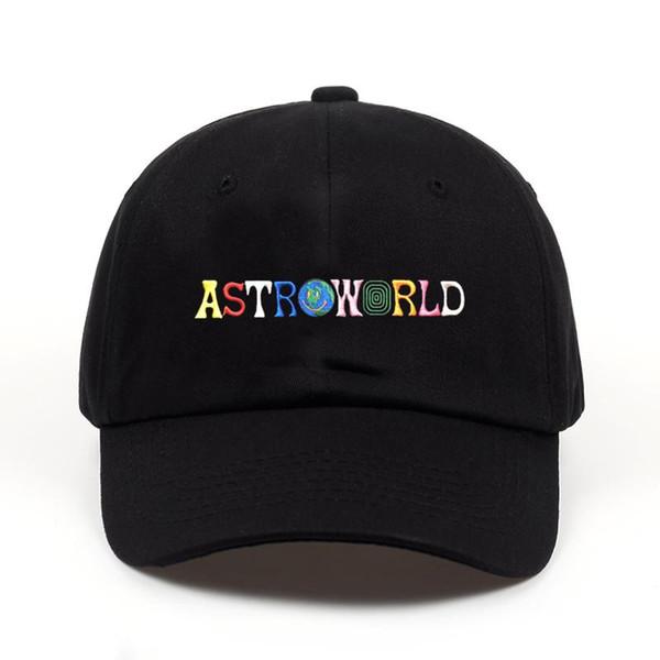 2018 новый 100% хлопок ASTROWORLD бейсболки Трэвис Скотт унисекс Astroworld папа шляпа Cap высокое качество вышивка мужчина женщины