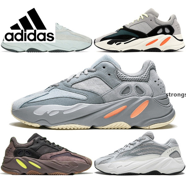 sports shoes c13d4 d17f8 2019 Original Kanye West Adidas Air Yeezy Wave Runner 700 Mauve Yung 1  Sneaker EE9614 Tan Inertia 700s Geode Static Runing Shoes Yezzy Yeezys  Yezzys ...