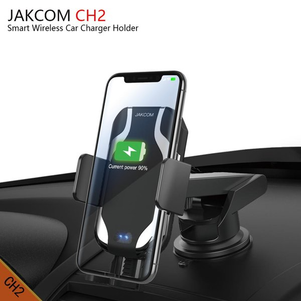 JAKCOM CH2 Smart Wireless Car Charger Mount Holder Hot Sale in Cell Phone Chargers as txed cable bite smart watch phone