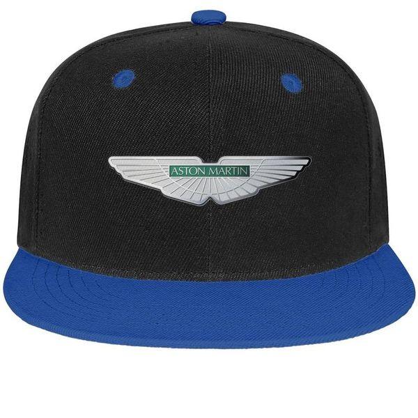 Womens Mens Plain Adjustable Aston Martin Logo Punk Hip-Hop Cotton Baseball Hats Summer Hats Flat Top Hat Airy Mesh Hats For Men Women