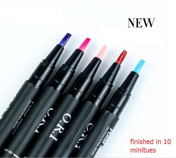 Nail Art polacco della penna all'ingrosso 36 colori One Step Gel 3 in 1 chiodo UV impregna il chiodo LED UV Off lampada che brilla di scintillio del gel Bisogno Top Coat Base 5ml