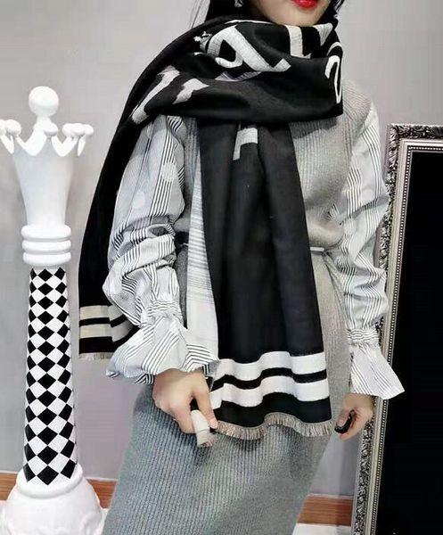 Top designer de seda da marca cachecol senhora suave xale super-inverno luxo caxemira lenço pelo designer marca feminina critik manta morna