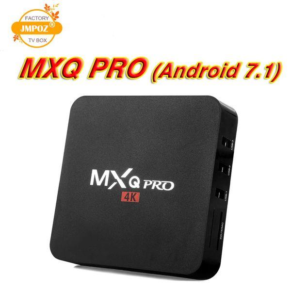 1 PCS mxq pro 4k caixa de tv android Amlogic S905W rk3229 1 GB 8 GB de Flash eMMC HDMI 2.0 Media Player suporte 3D filmes grátis