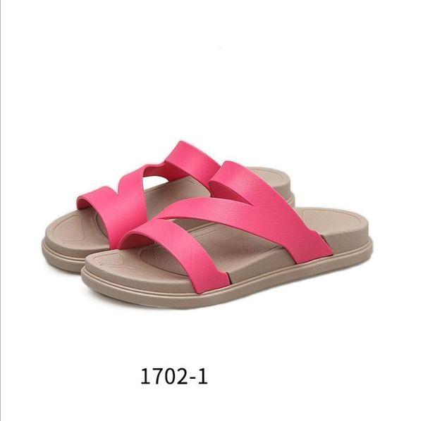2019 Cheap Running Shoes Women Sandals Designer Shoes Slide Summer Best Fashion Wide Flat Slippery Sandals Slipper Flip Flop size 36-41