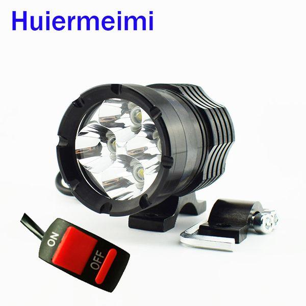 headlamp led 1 PCS Motorcycle LED Headlights 12V 40W Motorbike Spotlight Moto Driving Head Light 6000K Work Lamp Headlamp With Switch