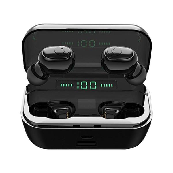 Téléphone portable automatique Jumelage de charge sans fil avec chargeur Bin Trésor émetteur Casque voiture de sport casque sans fil