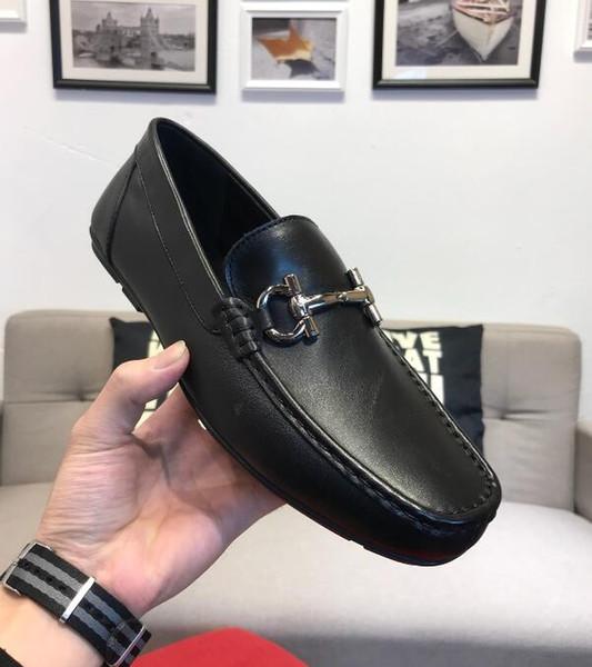 Топ новый бренд Италии дизайнер кожаная обувь из натуральной кожи мужская повседневная кроссовки мода роскошный дизайнер скольжения на мокасины Eur 38-45