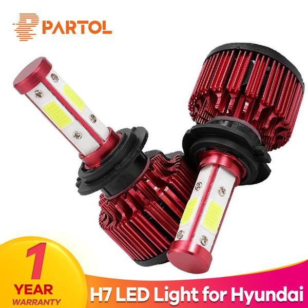 Fits Hyundai ix35 100w Super White Xenon HID High//Low//Side Headlight Bulbs Set