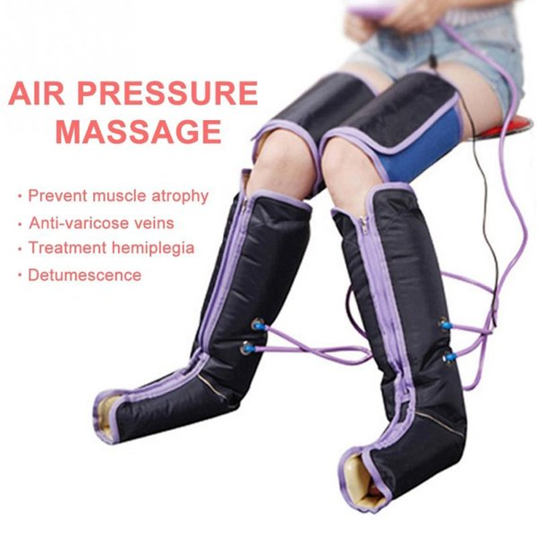 Air Compression Leg Massage Electric Blood Circulation Leg Wrap Massage Machine For Body Arm Foot Ankle Calf Therapy Pain Relief